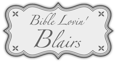 Bible Lovin' Blairs logo